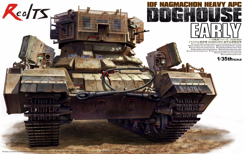 Tiger Model 1/35 4624 IDF Nagmachon Heavy APC Doghouse Early
