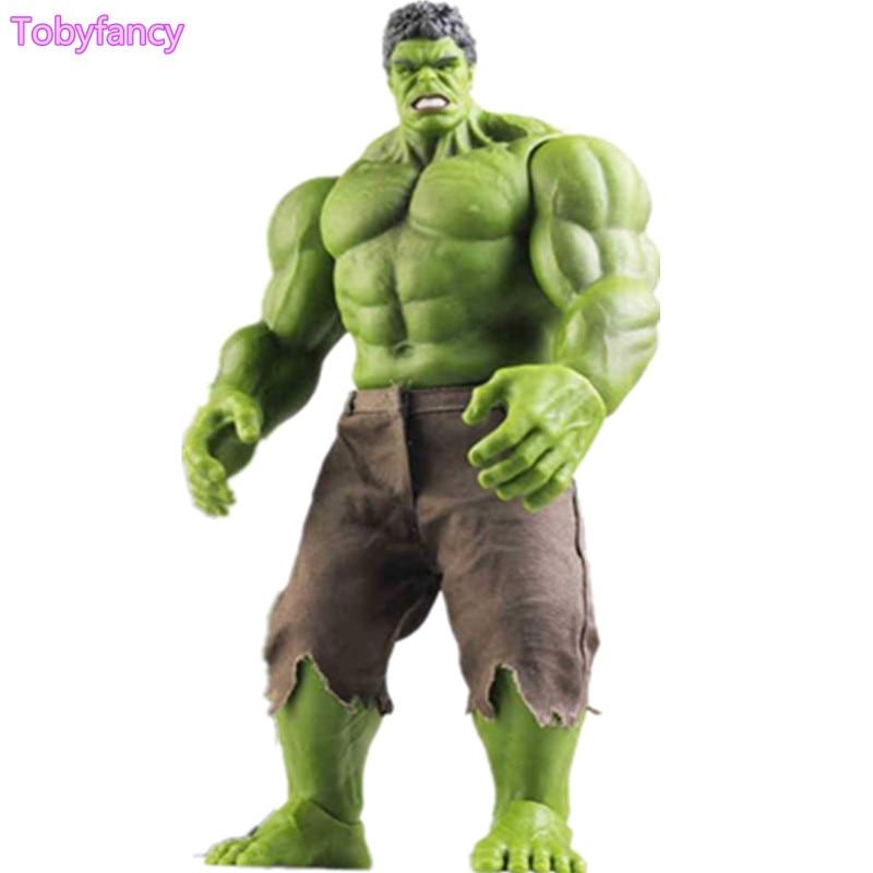 Anime Avengers Incredible Hulk Iron Man Hulk Buster di Mezza Età Di Ultron Hulkbuster 42 cm Giocattoli IN PVC Action Figure Hulk Smash