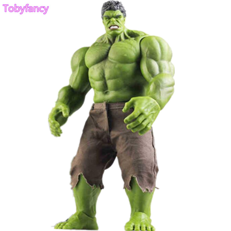 Anime Avengers Incredible Hulk Iron Man Hulk Buster Age Of Ultron Hulkbuster 42CM PVC Toys Action Figure Hulk Smash
