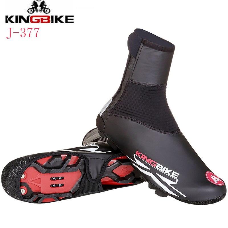 KINGBIKE Mise À Niveau Version Vélo Thermique Chaussures Couverture D'hiver Coupe-Vent VTT Vélo Équipements Couvre-chaussures Protecteur Couverture De Botte