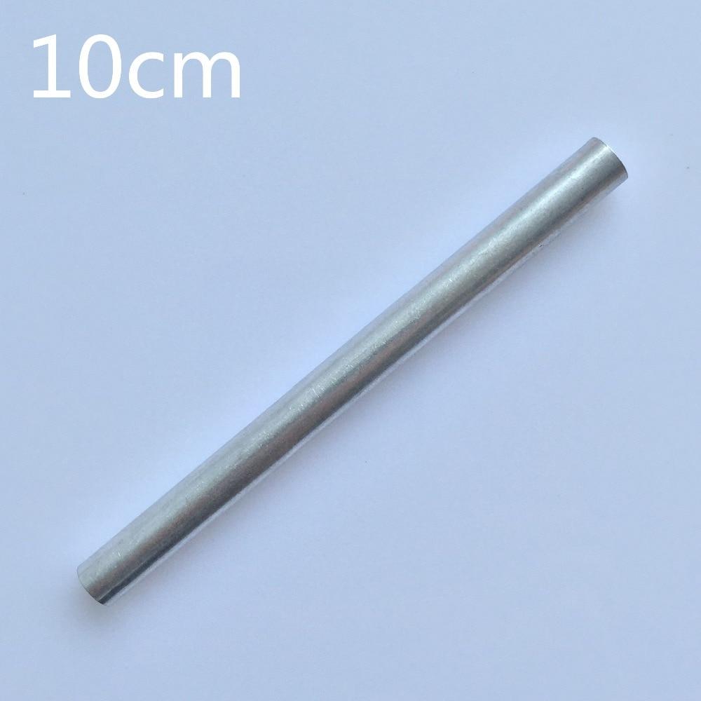 1pc/pack K795Y 10cm Aluminum Pipe Out Diameter 8mm Inner Diameter 5mm Hollow Circular Tube For DIY Model Making