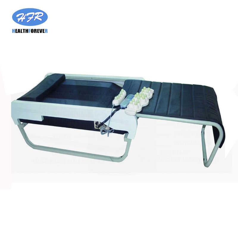 マスター V3 ハッピー夢韓国タイ購入中国ポータブル電動フルボディ加熱熱折りたたみヒスイ石マッサージベッド