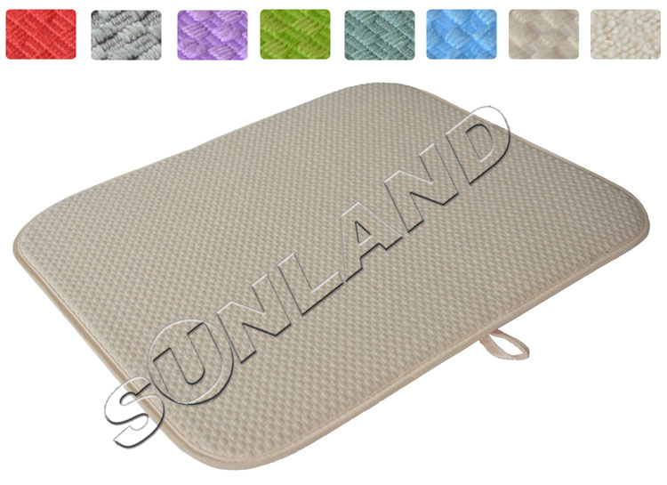 High Quality 16inch X 18inches Waffle Weave Dish Drying