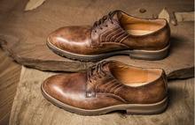 QYFCIOUFU Luxury Genuine Leather Men Business Pointy Dress Shoes Breathable Formal Wedding Basic Shoes Men Dress Shoes Vintage