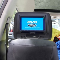 7 Inch Car Headrest Monitor Digital Touch Screen Pillow Monitor DVD Player