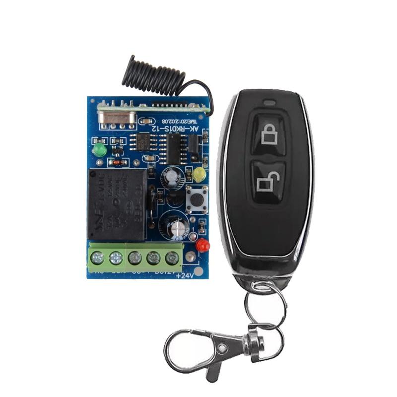DC 12V 1 CH 10A RF Wireless Remote Control Lighting Switch