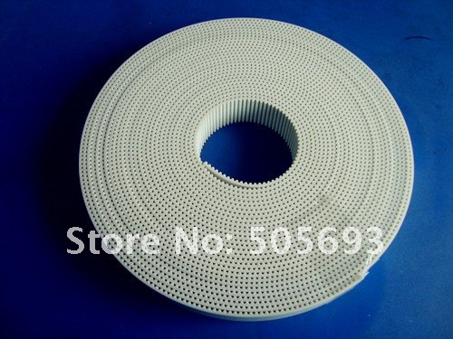 customized S2M open timing belt cnc 20mm width for 4m length
