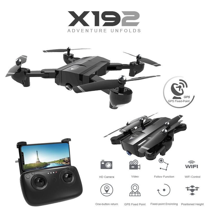 SG900 X192 GPS Quadcopter With 720P/1080P HD Camera Rc Helicopter GPS Fixed Point WIFI FPV Drones Follow Me Mode vs Hubsan H501s Квадрокоптер
