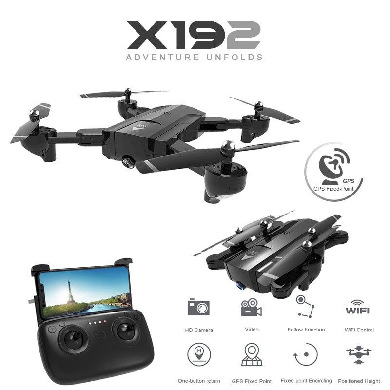 SG900 X192 Quadricoptère Avec 720 p/1080 p HD Caméra Hélicoptère Rc GPS Point Fixe WIFI FPV Drones suivez-moi Mode vs Hubsan H501s
