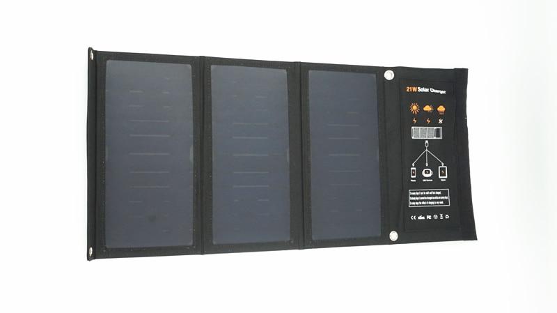 solares mochila sunpower carregador de painel solar