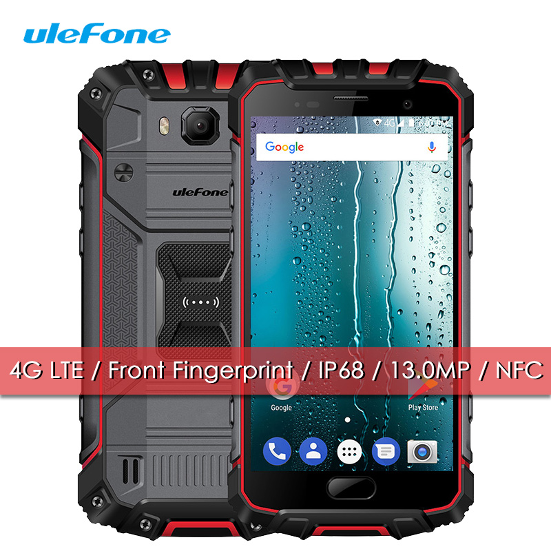Ulefone Armour 2S IP68 Mobile Phone Waterproof Shockproof 4G LTE Quad Core 2 16 Smartphone Android