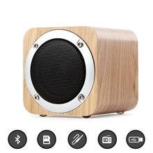 Retro trådlös Bluetooth-högtalare HIFI Subwoofer Bärbar minihögtalare Flerfunktionsstöd TF-kort / AUX / FM-radio