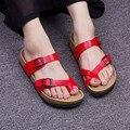 New Fashion Summer Casual Flip Flops Cork Sandals Men Mixed Color  Valentine Shoes Zapatos Sandalias Plus Size 39-43