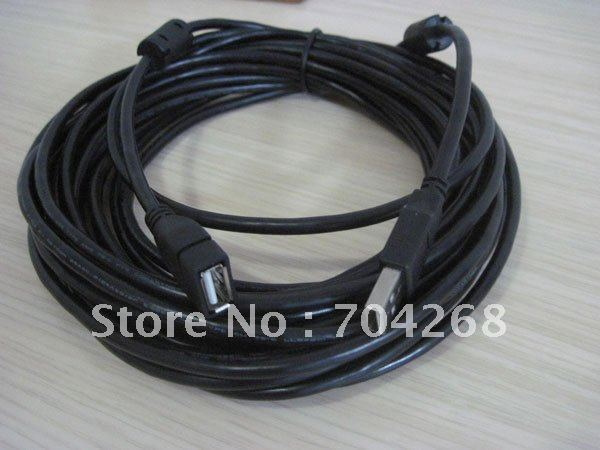 10m 394inch 33ft USB 2.0 A Male to Female connector extension cable cord New