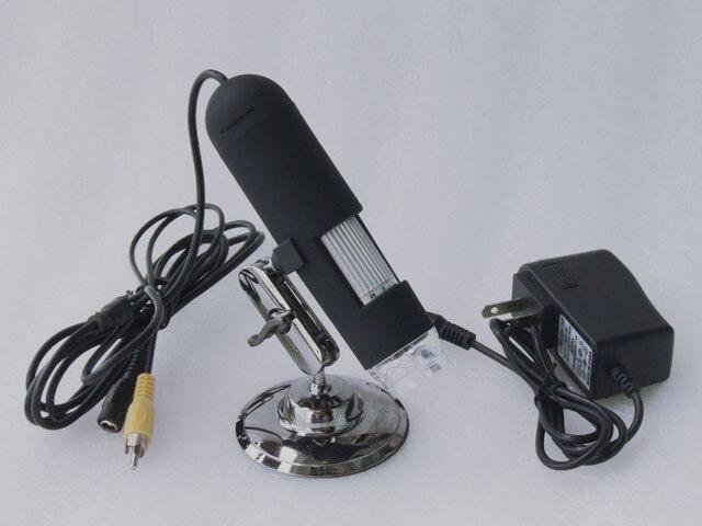 CMOS Borescope AV 1200X  2 mega-pixels 8 LED digtal microscope new model super hd 5mega pixels 1000x usb microscope cmos borescope support 8 language