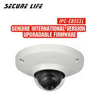 IPC-EB5531 5MP WDR Panorama 180 Degree built-in MIC with SD card slot POE Network Fisheye IP Camera replace IPC-EB5500