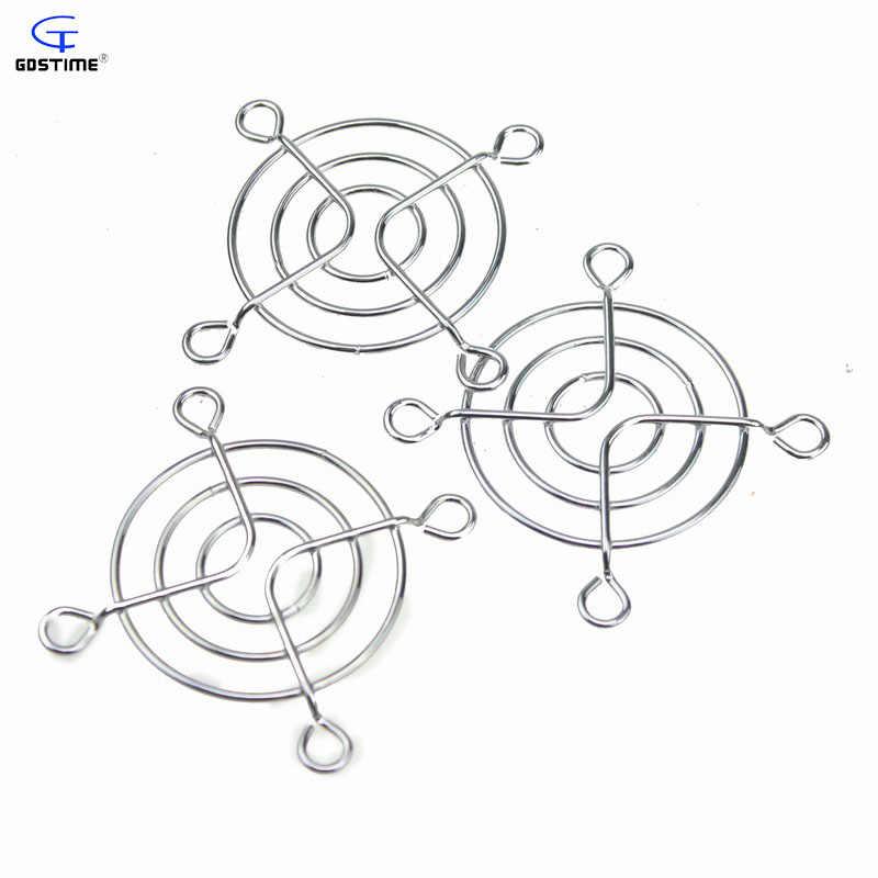 Gdstime 50 個 50 ミリメートル鉄ネット高品質 pc dc ファングリルプロテクター金属指のための 5 センチメートル冷却ファン卸売
