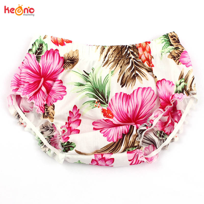 Baby Floral Cotton Summer   Shorts   Newborn Bloomers Baby Knickers Children Sun Clothing Photo Props Shower Gift