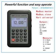 LB06 Hart 전류 전압 4 20mA 0 10V/mV 신호 발생기 소스 열전쌍 PT100 온도 프로세스 캘리calibra테스터