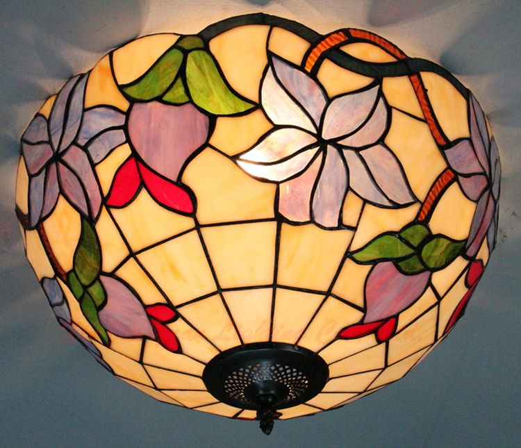 12inch Tiffany European pastoral rose wedding ceiling lighting warm bedroom entry garden light12inch Tiffany European pastoral rose wedding ceiling lighting warm bedroom entry garden light