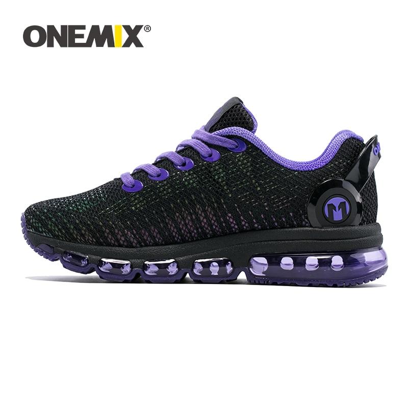 ONEMIX Sneakers Men Running Shoes High Top Cool Reflective Vamp Air Cushion Training Sports Jogging Women