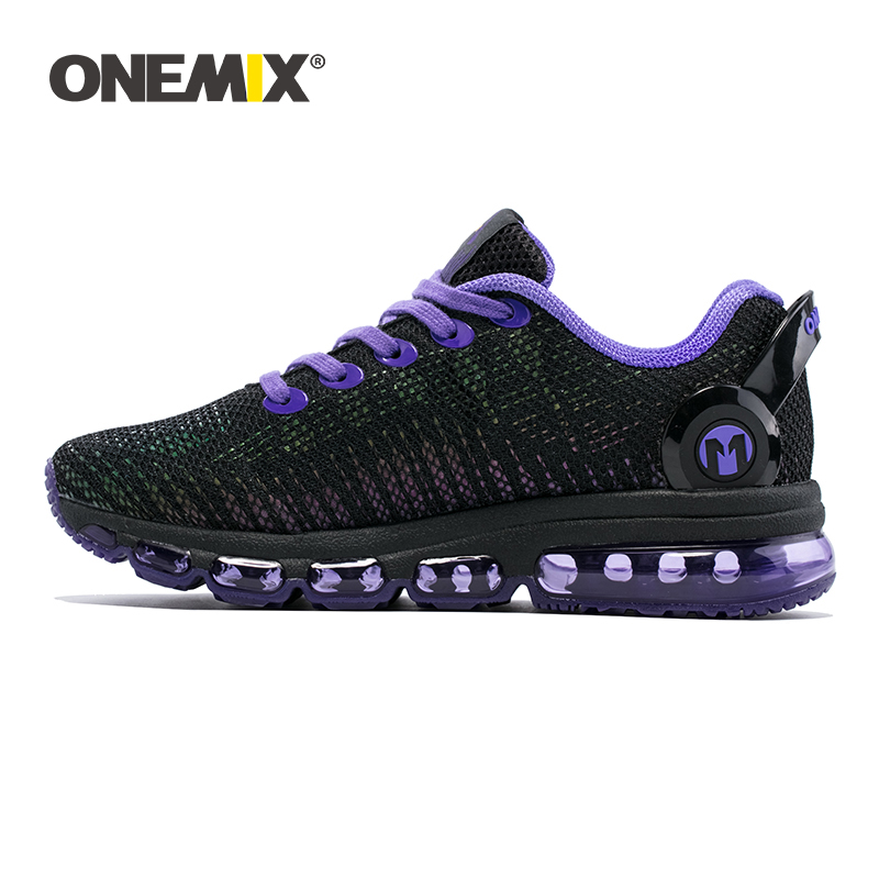 ONEMIX Sneakers Men Running Shoes High Top Cool Reflective Vamp Air Cushion Training Sports Jogging Women Shoes Walking Sneakers