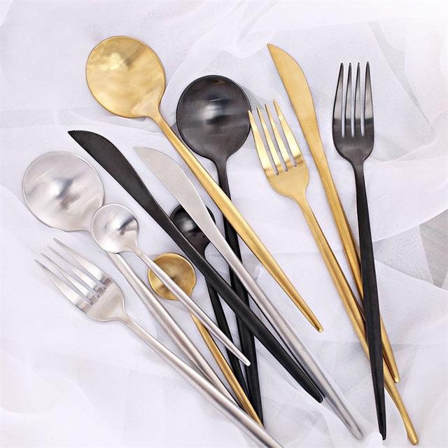 Modern Style Stainless Steel Cutlery Set
