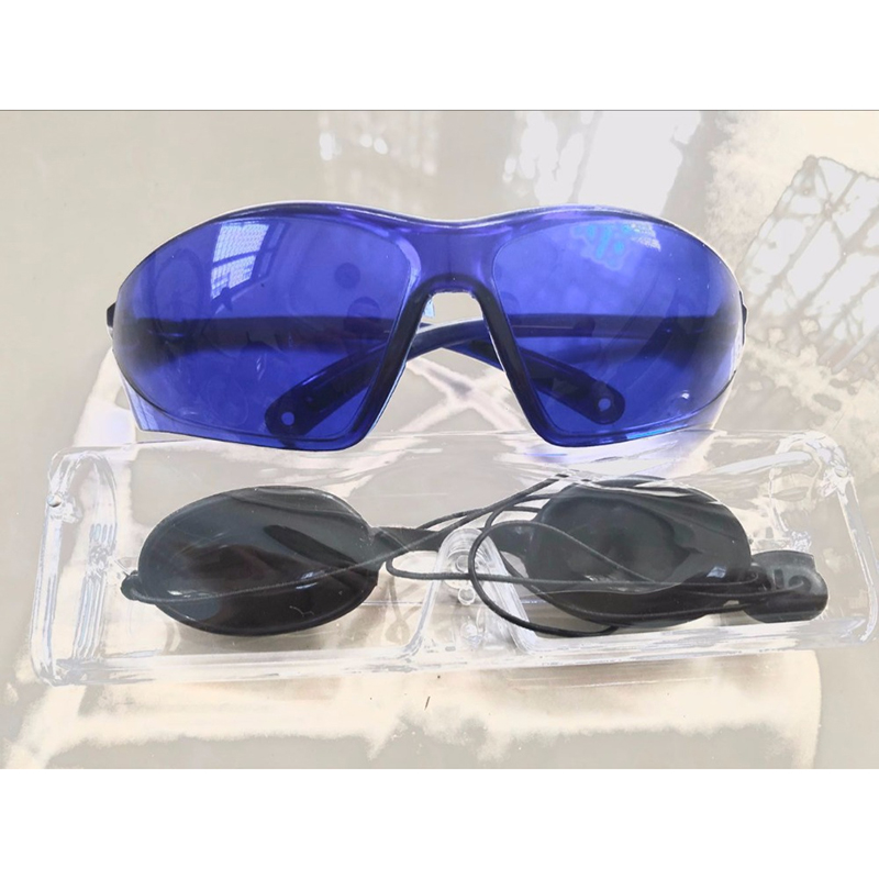 Stgrt 2019 New Style Fashionable 1064 Nanometer Laser Glasses Light For Hair Removal Beauty Protection Goggles For Epilation