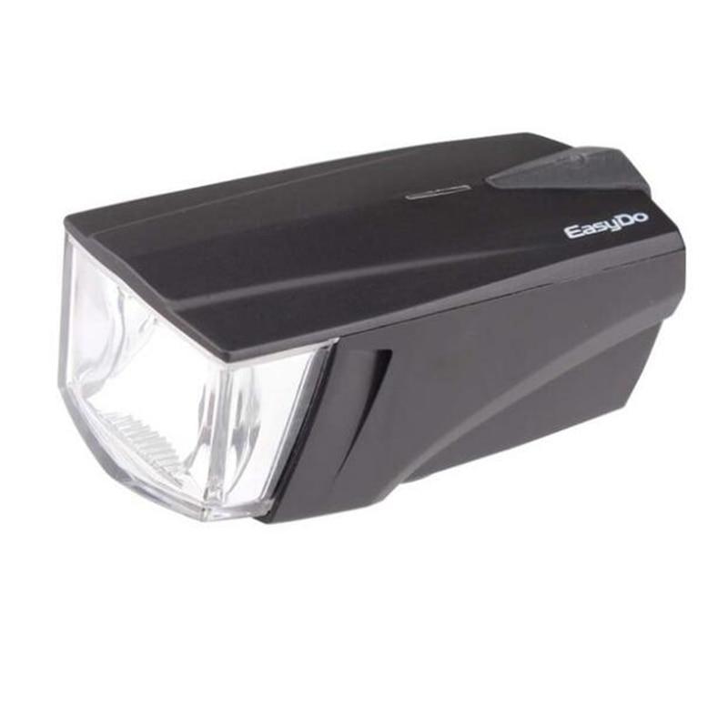 Easydo Bicycle Headlight + <font><b>Horn</b></font> USB Rechargeable Bike Handlebar LED Lamp Electronic Bell Siren Alert Lantern Flashlight STVZO