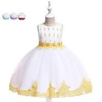 Festival Party Girls Dress for 4 To 10 Years Old Girl Dresses Princess Beading 4 Choose