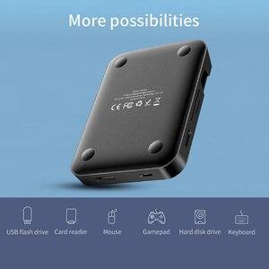 Image 5 - Док станция для телефона Huawei Samsung, док станция с разъемом USB C HDMI, адаптер питания