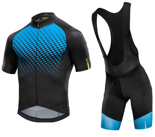 9b4ed563d MAVIC 2018 Summer Cycling Jersey Short Sleeve Set Breathable bib shorts  Bicycle Clothes Quick Dry Bike Wear Clothing