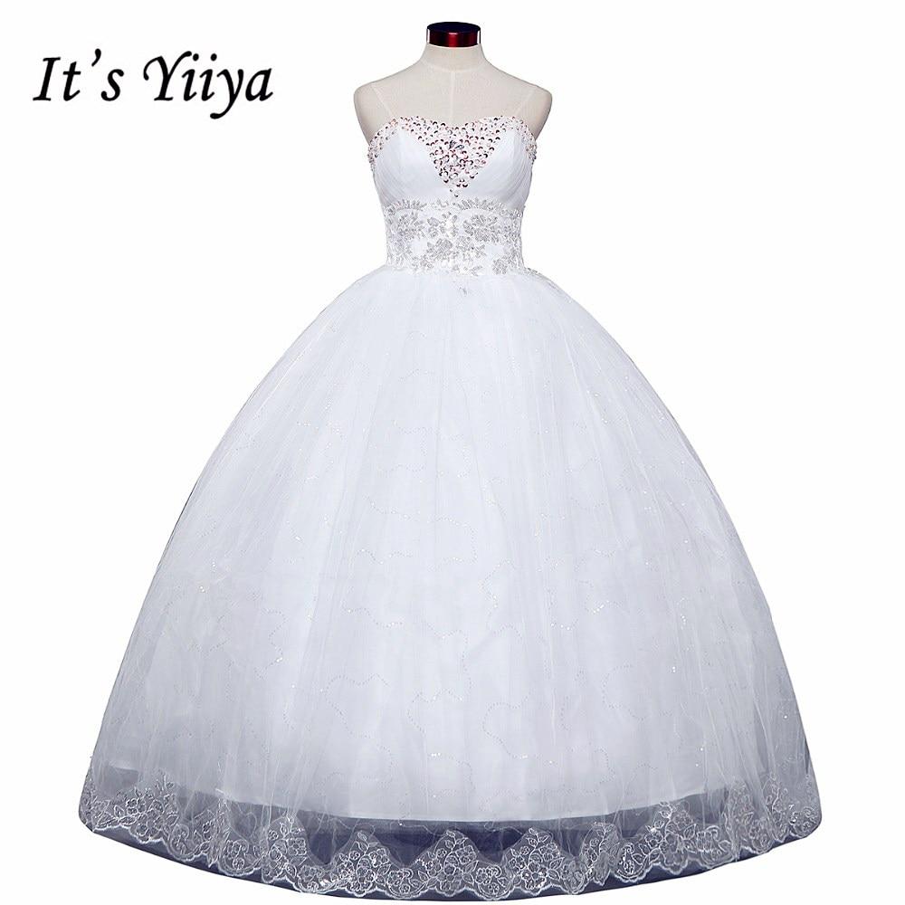 free shipping 2015 new cheap wedding gown white lace romantic wedding dress bride dresses price under vestidos de novia 50 hs122
