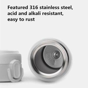 Image 4 - Original Xiaomi Mijia VIOMI Thermos mi Cup 스테인레스 스틸 진공 스마트 병 24 시간 플라스크 워터 보온병 싱글 핸드 온/닫기