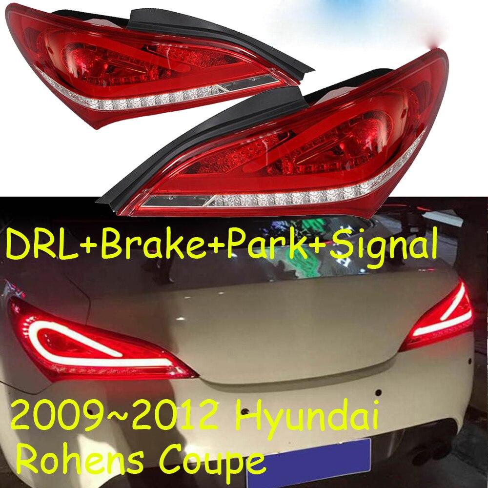 Rohens taillight,Coupe,LED,2009~2012year,Free ship!accent,Elantra,i10,i20,santafe,tucson,lantra,Rohens rear lamp