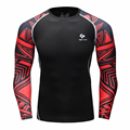 Bajo T-shirt homme Atletismo Remata La Blusa Camisa Transpirable Compresión Armadura Gimnasio T-shirt Hombres \ Mujeres Camiseta