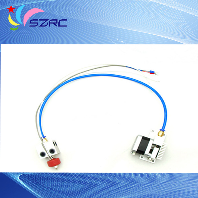 3D printer parts distal extruder single nozzle thermocouple print head quality um2 extended 3d printer full kit not assemble with master single nozzle