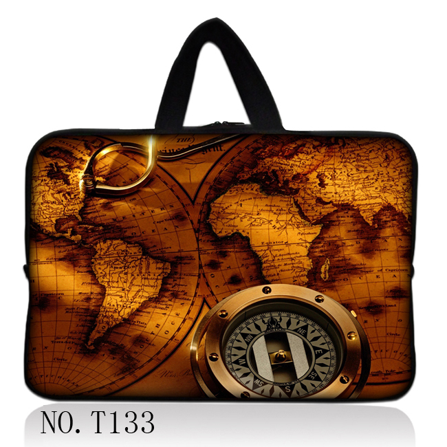 13 Compass & Maps Laptop Netbook Sleeve Bag Case Cover For 13.3 Apple MacBook Pro,Air