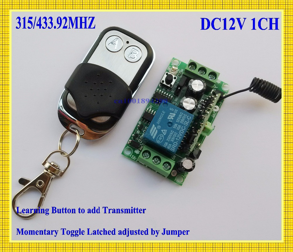 Aliexpress.com : Buy Light on/off Remote Control Switch Power Remote ...