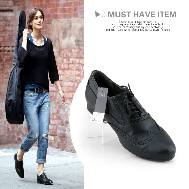 2014 Fashion Casual Carved Brogue Oxford Shoes Preppy