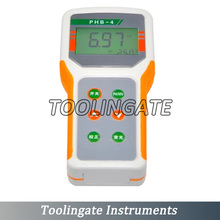 Microcomputer-based PHB-4 PH MeterTemperature Compensation PH Monitor Tester Range:0.00~14.00pH Accuracy:+-0.01pH ATC