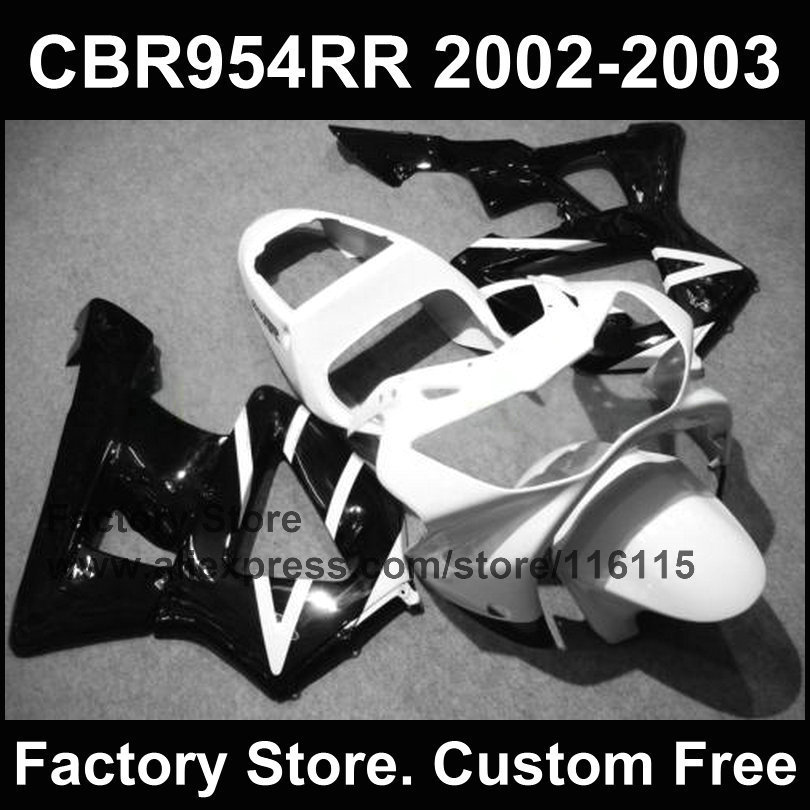 White bodyworks for  CBR 900RR 2002 2003 fireblade fairings kit CBR 954 RR CBR 900RR 02 03 Compression mold fairing parts телевизор erisson 39les76t2