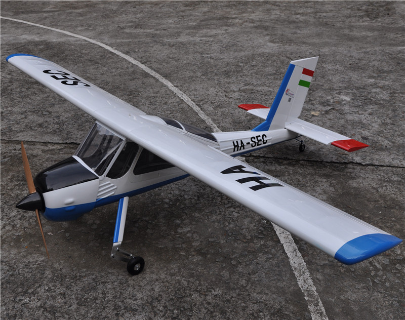Large Balsa Wood RC Airplane Model 89 PZL-104 Wilga V2 30cc Gas Engine RC Plane aluminum water cool flange fits 26 29cc qj zenoah rcmk cy gas engine for rc boat