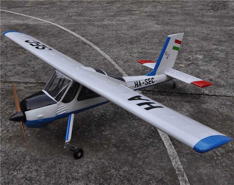 """Large Balsa Wood <font><b>RC</b></font> Airplane Model 89\"""" PZL-104 Wilga V2 30cc Gas <font><b>Engine</b></font> <font><b>RC</b></font> Plane"""