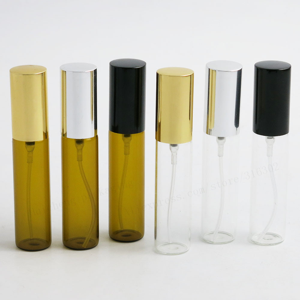 (DHL)Free Shipping - 24pcs/Lot 10ml Glass Sprayer Bottle,1/3OZ Refillable Perfume Atomizer,10cc Fragrance Bottle