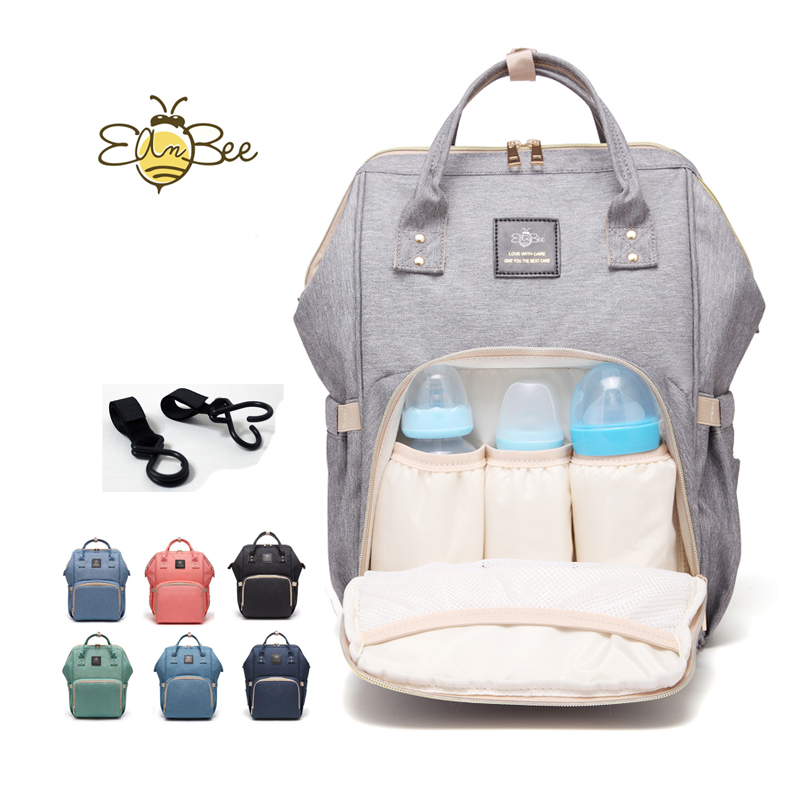 eambee Upgraded Diaper Bag Multi-Function Waterproof Travel Backpack Nappy Bags for Baby Care Large Capacity Stylish and Durable