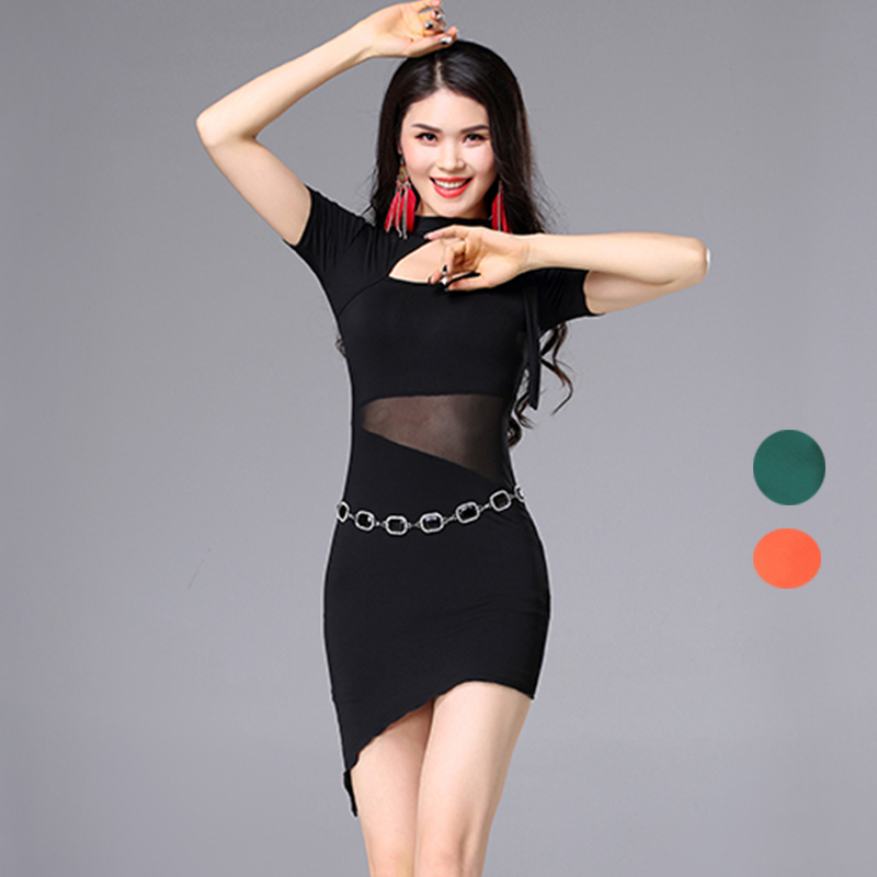 New Women Ladies Belly Dance Dress Oriental Short Sleeves Modal Fabric Sexy Belly Dancing Wear Training Or Performance Clothes