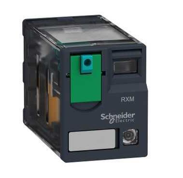 Rxm Малый реле 2 C/o 110 В DC 12, светодиодный RXM2AB2FD