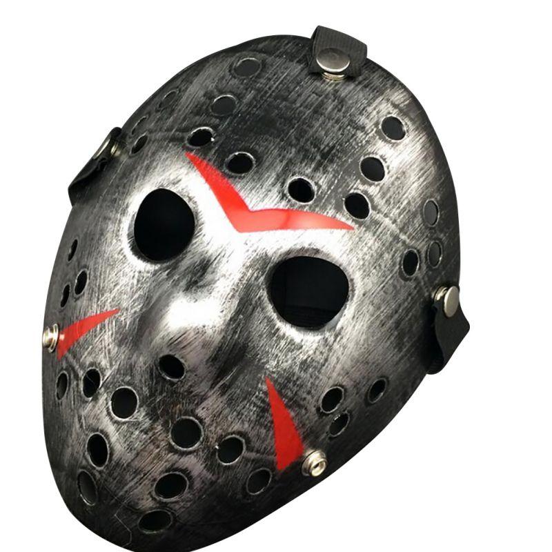 2018 Halloween Mask Jason vs Friday The 13th Horror Hockey Mask Halloween Party Cosplay Scary Mask 4