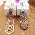 Moda gravata pingentes de alta qualidade longa corrente de prata gargantilha colar mulheres colar nupcial do casamento jóias colar especial